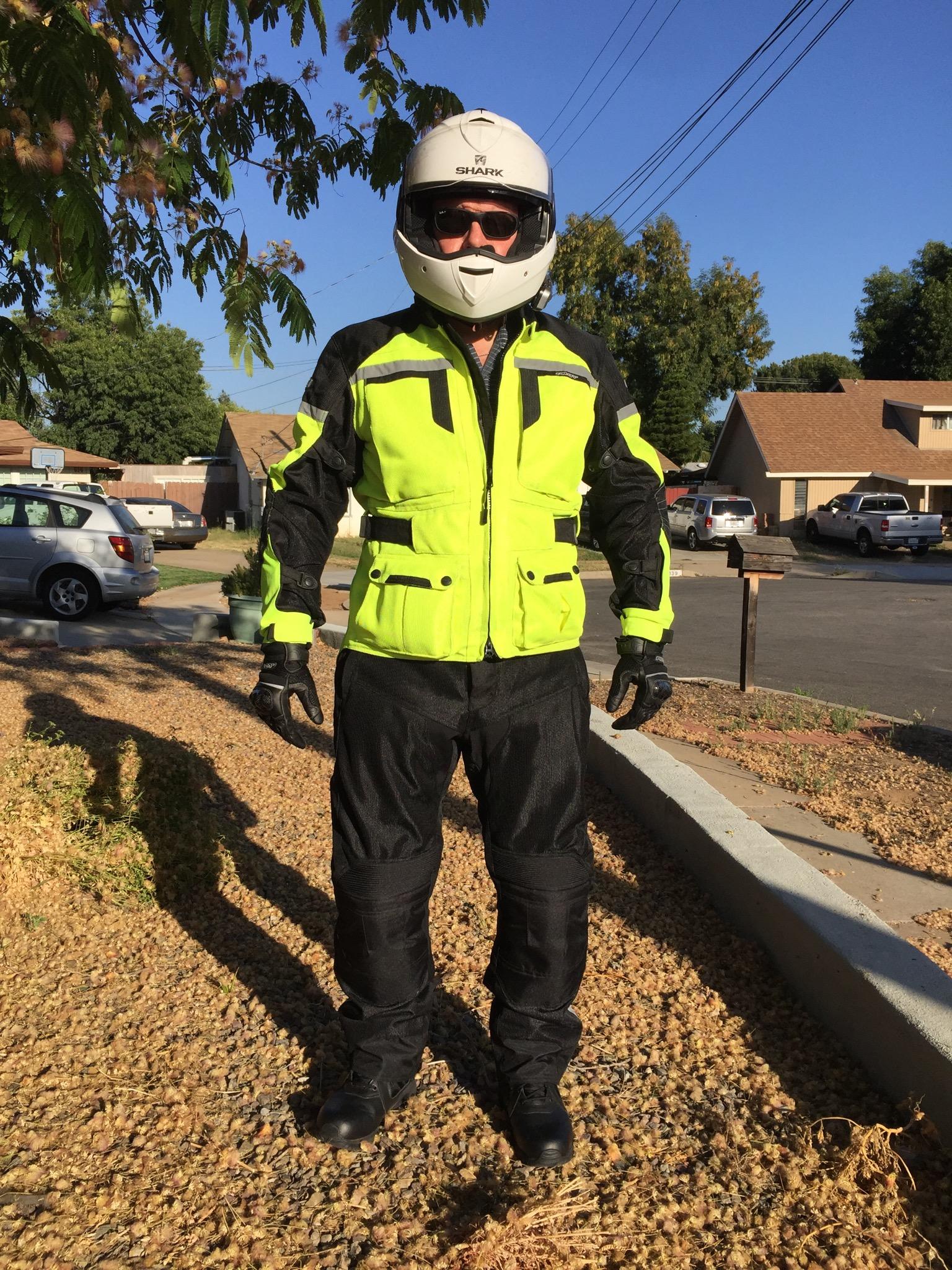 Pilot Motosports Gear - Front View