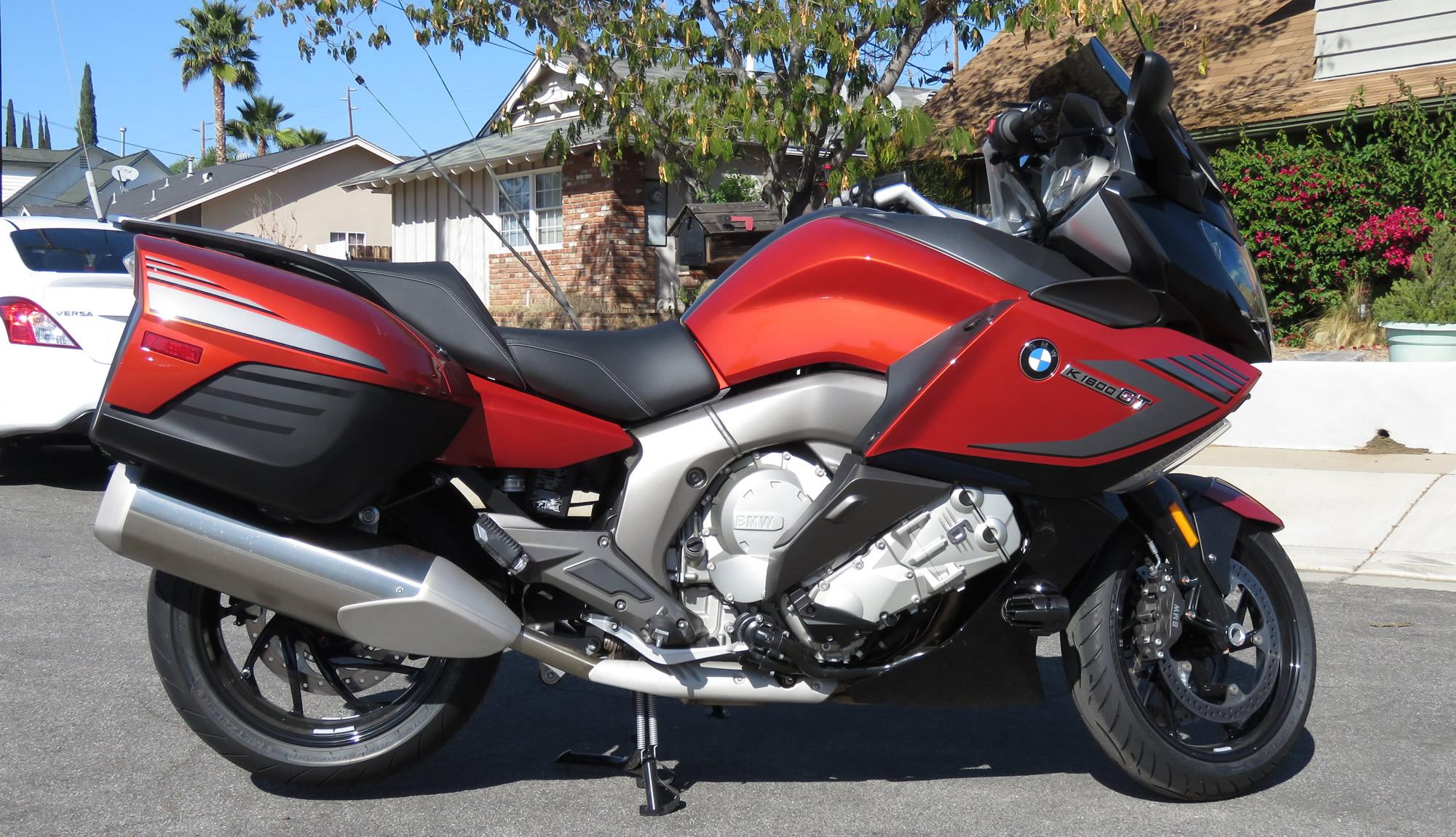 My BMW K1600GT